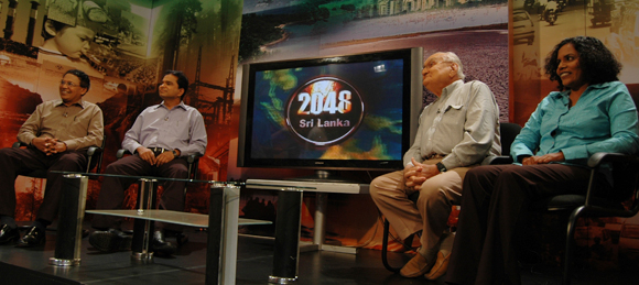 Ray Wijewardene on Sri Lanka 2048 TV series panel