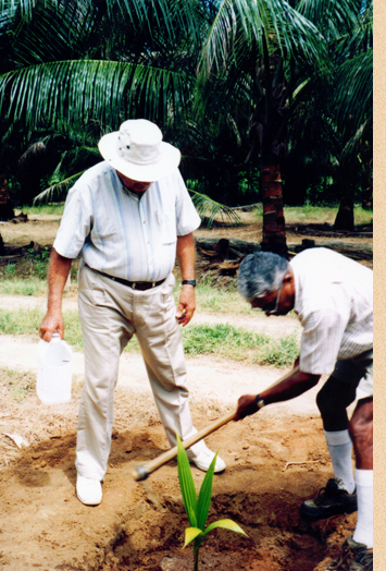 Ray Wijewardene actively particiapted in agriculture