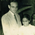 Ray and Seela Wijewardene on their wedding day in Colombo, August 1949