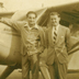 Proud aviator Ray Wijewardene (with arm on aeroplane) during his Cambridge University days, 1946-48