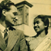 Ray Wijewardene and Seela de Mel in London circa 1948 during their courtship.