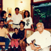 Seela and Ray Wijewardene with three daughters, sons-in-law and grandchildren, circa 1995.